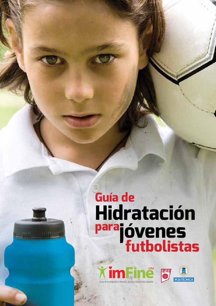 Guía de hidratación para jóvenes futbolistas